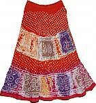 Thunderbird Ethnic Cotton Skirt