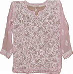 Clam Shell Ladies Tunic Top