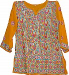 Curry Ladies Tunic Top