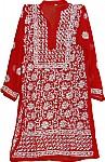 Spanish Red Ladies Tunic Shirt