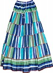 Tall Tropical Peasant Skirt