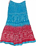 Ethnic Cotton Sequin Skirt