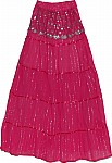 Charmed Sequin Long Skirt