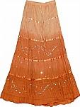 Raw Seina Sequin Long Skirt