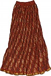 Sepia Skin Ethnic Indian Skirt