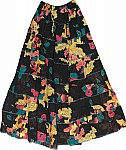 Bohemian Hippie Cotton Long Skirt