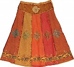 Orange Roughy Plus Size Skirt