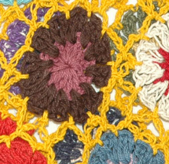 Nugget Crochet Cotton Skirt
