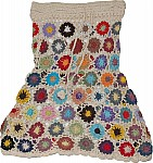 Malta Crochet Cotton Skirt