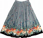 Regent Gray Summer Skirt