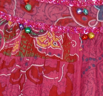 Stiletto Sequin Long Skirt