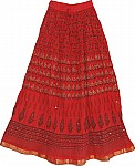 Thunderbird Ethnic Skirt