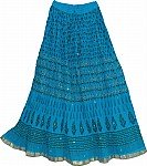 Bondi Blue Summer Skirt