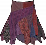 Very Bohemian Fringed Winter Skirt