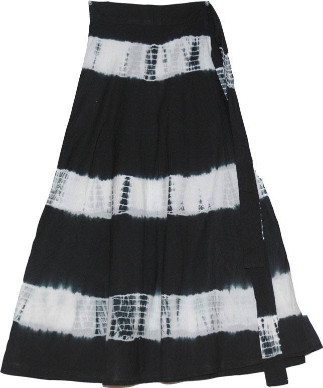 black tie dye skirt wrap clothing black skirts tie