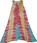 Crayon Tie Dye Lounge Dress