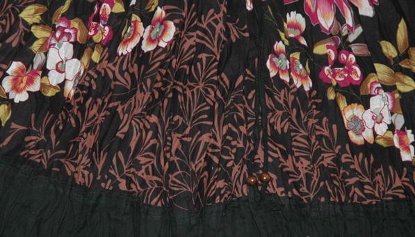 Black Camelot Show Girl Skirt