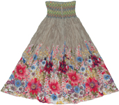 Napa Granite Smock Dress Skirt