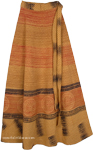 Enhanted Chakra Ethnic Wrap Cotton Skirt