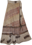Zambezi Wrap Hem Long Skirt