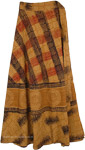 Enhanted Chakra Earthen Ethnic Wrap Cotton Skirt