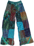 Skyfire Patchwork Lounge Pants