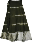 Heavy Metal Tie Dye Long Skirt