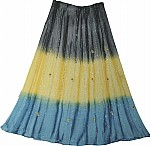 Bells Mirrors Ethnic Sexy Long Skirt