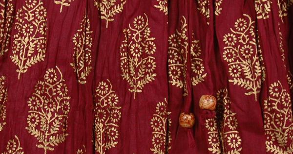 Radiance Crinkled Cotton Skirt