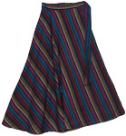 Gypsy Lines Cotton Long Skirt