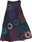 Martinique Fall Wrap Around Skirt