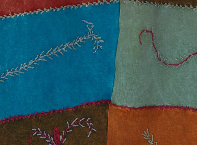 Sacajawea Boho Patchwork Skirt