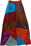 Lambani Tribal Patchwork long Skirt