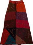 Tribal Patchwork Himalayan Skirt [2617]