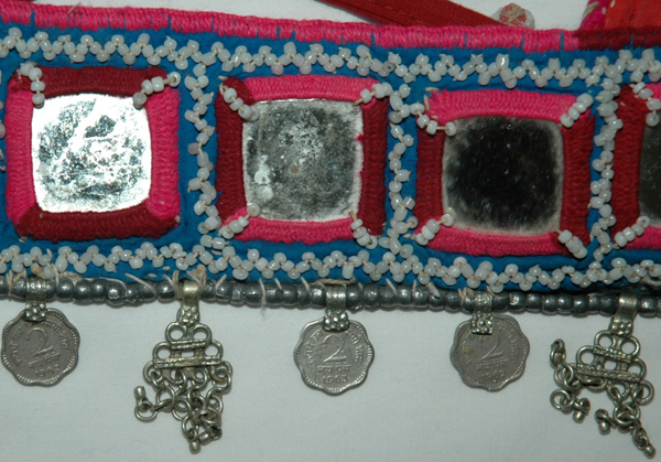Tribal Kuchi Banjara Mirror Beads Belt