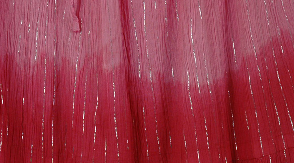 Pretty Ombr� Flowy Pink Skirt