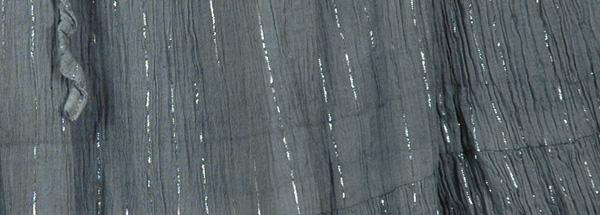 Ombre Flowy Grey Lurex Shimmer Skirt