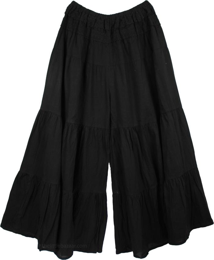 Black Bohemian Skirt 18