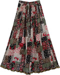 Evening Rose Bohemian Style Skirt