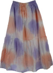 Smoky Summer Long Skirt
