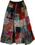 Citrine Colorful Summer Skirt