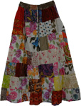 Tourmaline Hippie Summer Long Skirt