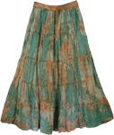 Marble Tie Dye Swamp Skirt