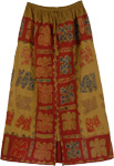Luxor Gold Applique Skirt