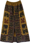 Exotic Applique Rocky Skirt