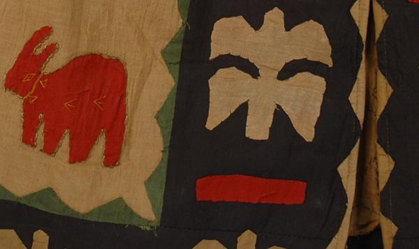 Starchy Symbols Animal Print Skirt