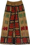 Red Green Animal Pattern Skirt [2881]