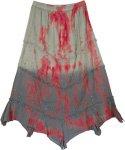 Suave Modern Boho Uneven Hem Skirt