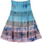 Viking Lily Cotton Trendy Short Skirt