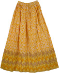 Sun Bloom Summer Long Skirt